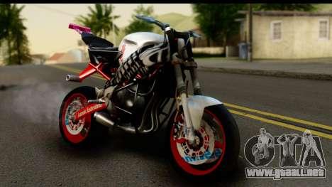 Kawasaki Ninja ZX6R v3.1 Fixed para GTA San Andreas