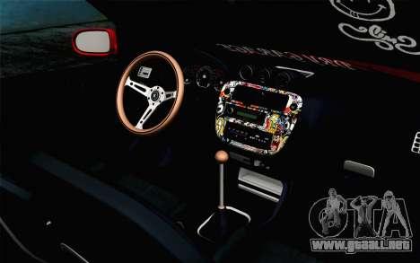 Honda Civic DRY Garage para la visión correcta GTA San Andreas