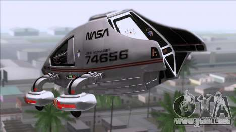 Shuttle v2 Mod 2 para GTA San Andreas left