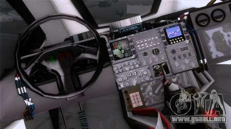 Shuttle v2 Mod 2 para la visión correcta GTA San Andreas