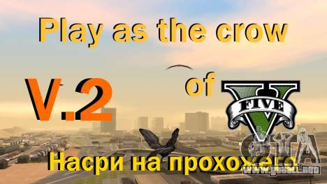 La oportunidad de jugar para aves v2 para GTA San Andreas