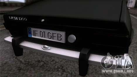 Dacia 1300 GFB Stanced para la visión correcta GTA San Andreas