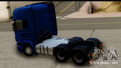 Scania G 4х6 para la visión correcta GTA San Andreas
