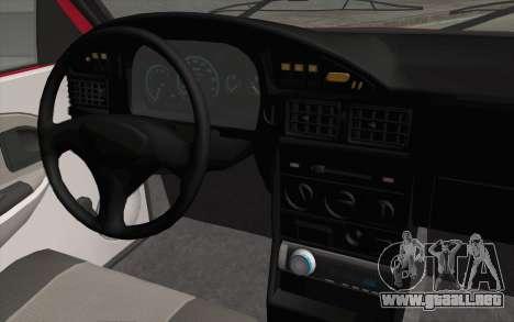 Dacia SuperNova para la visión correcta GTA San Andreas