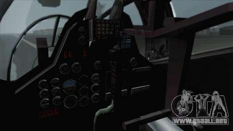 Savage GTA 5 v1.1 para GTA San Andreas vista hacia atrás