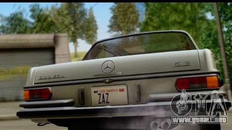 Mercedes-Benz 300 SEL 6.3 (W109) 1967 FIV АПП para la visión correcta GTA San Andreas
