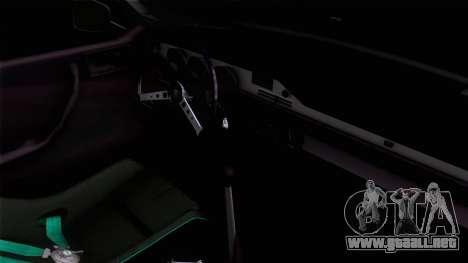 Dacia 1300 GFB Stanced para GTA San Andreas vista posterior izquierda