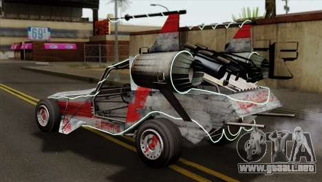 GTA 5 Space Docker IVF para GTA San Andreas left
