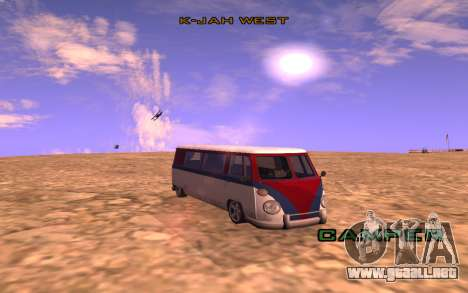 Greenlight ENB v1 para GTA San Andreas sucesivamente de pantalla