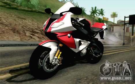 BMW S1000RR HP4 v2 Red para GTA San Andreas