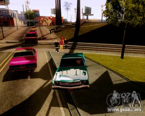 Ultimate ENB Series para GTA San Andreas segunda pantalla