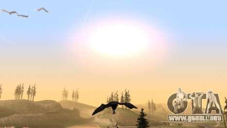La oportunidad de jugar para aves v2 para GTA San Andreas sexta pantalla