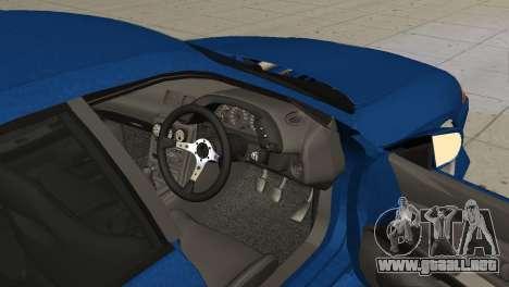 Nissan Skyline R32 Sedan para GTA San Andreas vista posterior izquierda
