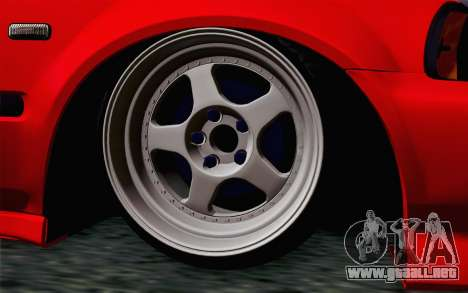 Honda Civic DRY Garage para GTA San Andreas vista posterior izquierda