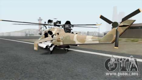 Savage GTA 5 v1.1 para GTA San Andreas left