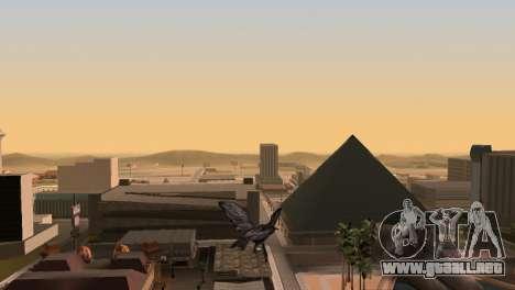 La oportunidad de jugar para aves v2 para GTA San Andreas sucesivamente de pantalla