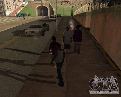 Shadows Settings Extender 2.1.2 para GTA San Andreas sucesivamente de pantalla