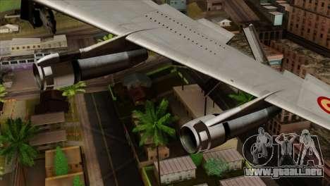 Boeing 707-300 Fuerza Aerea Espanola para la visión correcta GTA San Andreas