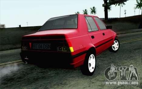 Dacia SuperNova para GTA San Andreas left