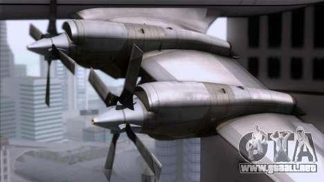 L-188 Electra Mandala Airlines para la visión correcta GTA San Andreas