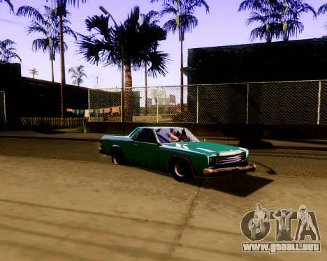Ultimate ENB Series para GTA San Andreas tercera pantalla