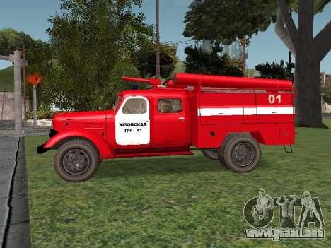 ZIL 164 Fuego para GTA San Andreas left