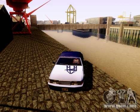 Ultimate ENB Series para GTA San Andreas sucesivamente de pantalla