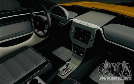 GTA 5 Cheval Fugitivo FIV АПП para la visión correcta GTA San Andreas