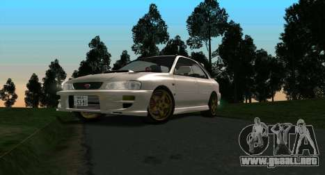 Subaru Impreza Sports Wagon WRX STI para GTA San Andreas