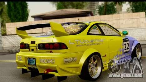 Acura Integra Type R 2001 para GTA San Andreas left