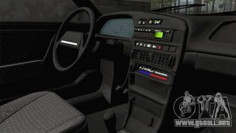 VAZ 2108 para la visión correcta GTA San Andreas