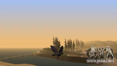 La oportunidad de jugar para aves v2 para GTA San Andreas quinta pantalla