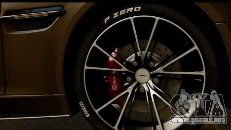 Aston Martin Vanquish 2013 Road version para la visión correcta GTA San Andreas