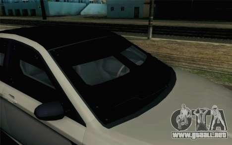 GTA 5 Karin Kuruma v2 Armored SA Mobile para GTA San Andreas vista hacia atrás