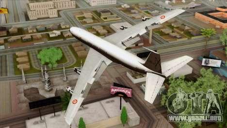 Boeing 707-300 Fuerza Aerea Espanola para GTA San Andreas left