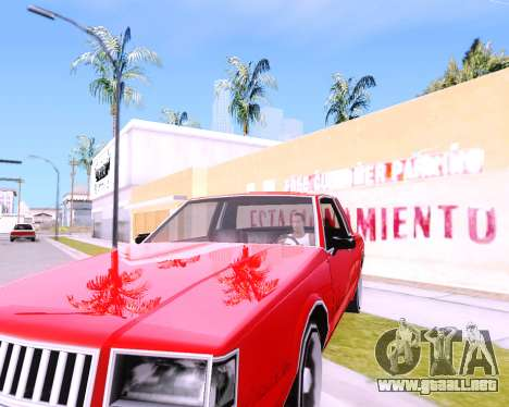 ENB Low PC AKedition para GTA San Andreas sucesivamente de pantalla