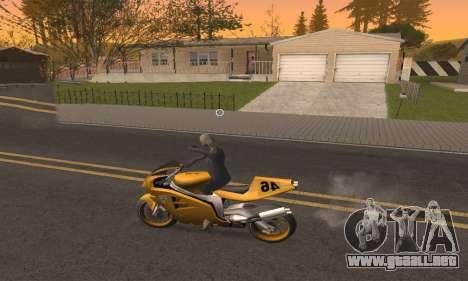 CLEO Drive By para GTA San Andreas quinta pantalla