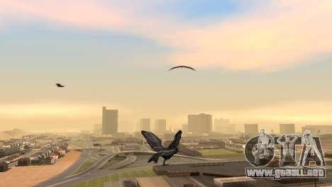 La oportunidad de jugar para aves v2 para GTA San Andreas segunda pantalla