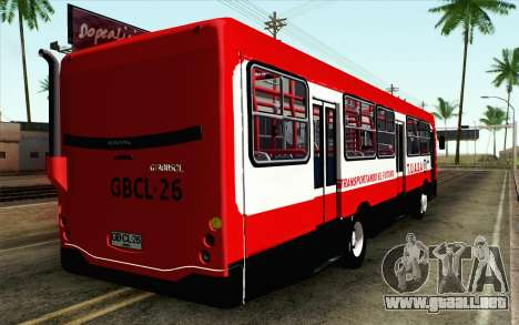 Mercedes-Benz OF-1721 para GTA San Andreas left