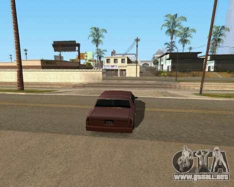 Shadows Settings Extender 2.1.2 para GTA San Andreas sexta pantalla