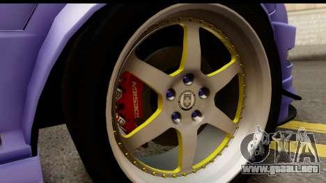 Acura Integra Type R 2001 para visión interna GTA San Andreas