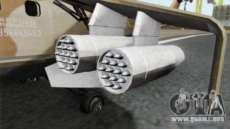 Savage GTA 5 v1.1 para la visión correcta GTA San Andreas