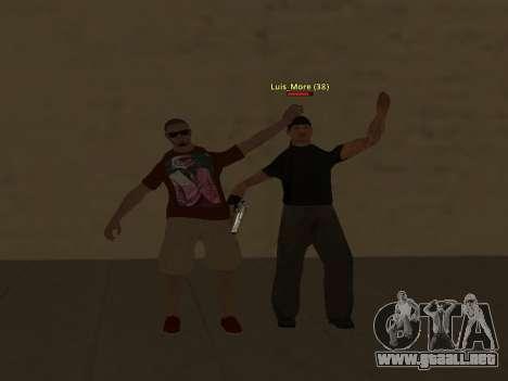 ALEX&GRIN Skin para GTA San Andreas sexta pantalla