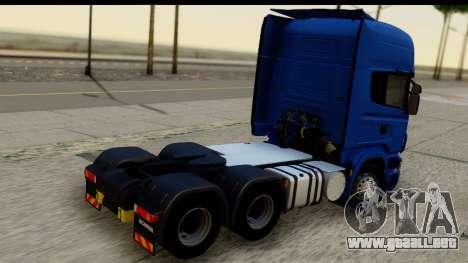 Scania G 4х6 para GTA San Andreas left