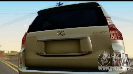 Lexus GX460 para la visión correcta GTA San Andreas