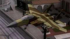 F-15C Camouflage Pack para GTA San Andreas