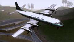 L-188 Electra Air New Zealand para GTA San Andreas