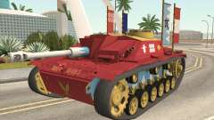 StuG III Ausf. G Girls and Panzer Color Camo para GTA San Andreas