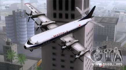 L-188 Electra Mandala Airlines para GTA San Andreas