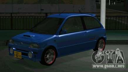 Subaru Vivio RX-R para GTA San Andreas